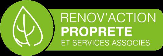 Logo Renov'action propreté