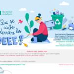 Les joyeux recycleurs- reporting de janvier
