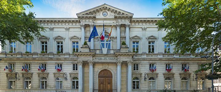 photographie d'une mairie en extérieur jour