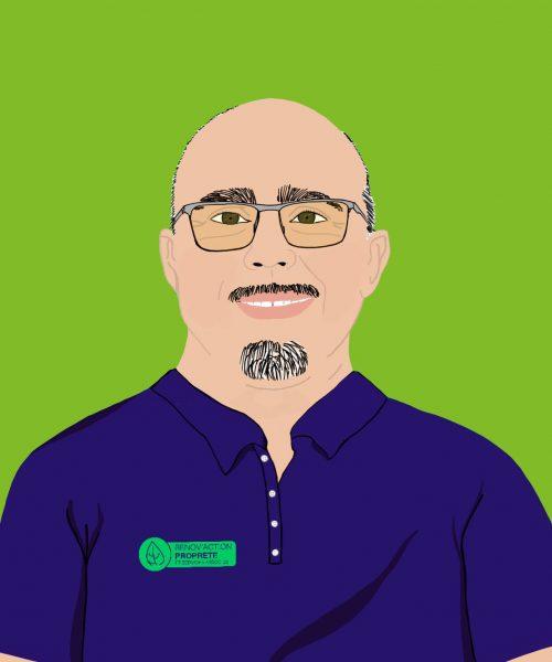 Portrait Gilberto